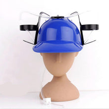 Load image into Gallery viewer, Drinking Beverage Helmet