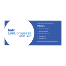 COMBO OFFER Bruder Dry Eye Mask & Eyelid Sheets (1 Mask and 1 Box of EyeLid Sheets)