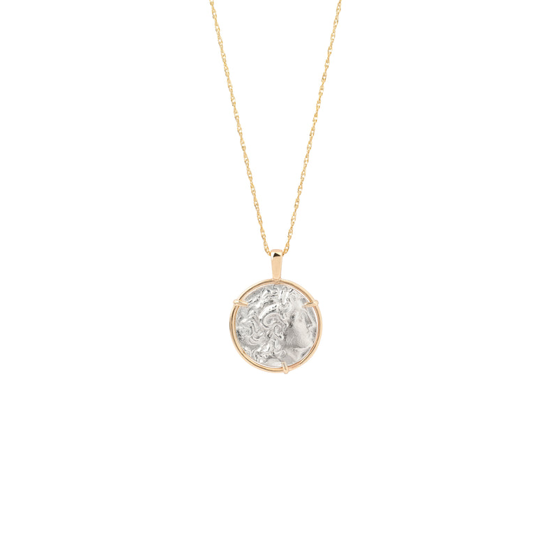 Alexander Medal Necklace gold chain