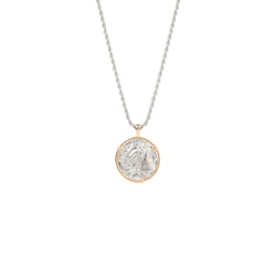 Alexander Medal Necklace silver chain