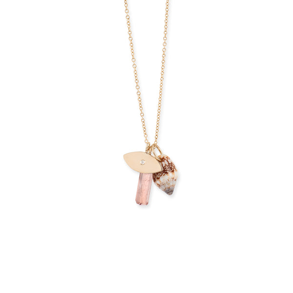 Charms Necklace Rose