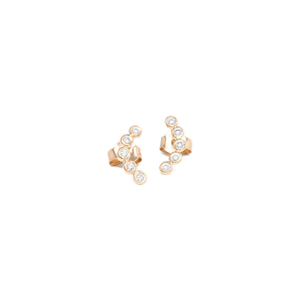 Gems Five Stud Earrings