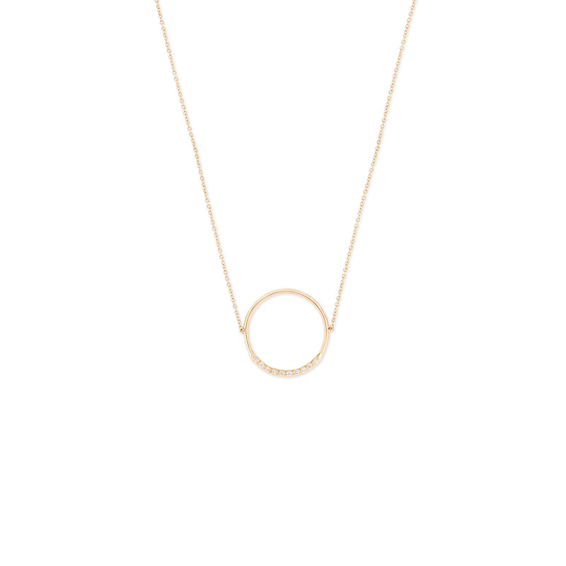 Hemera Circle Necklace