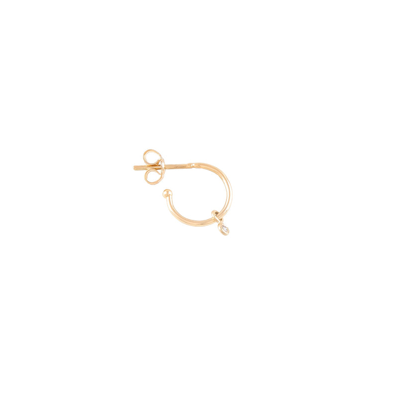 Hoop Earring Mini Single