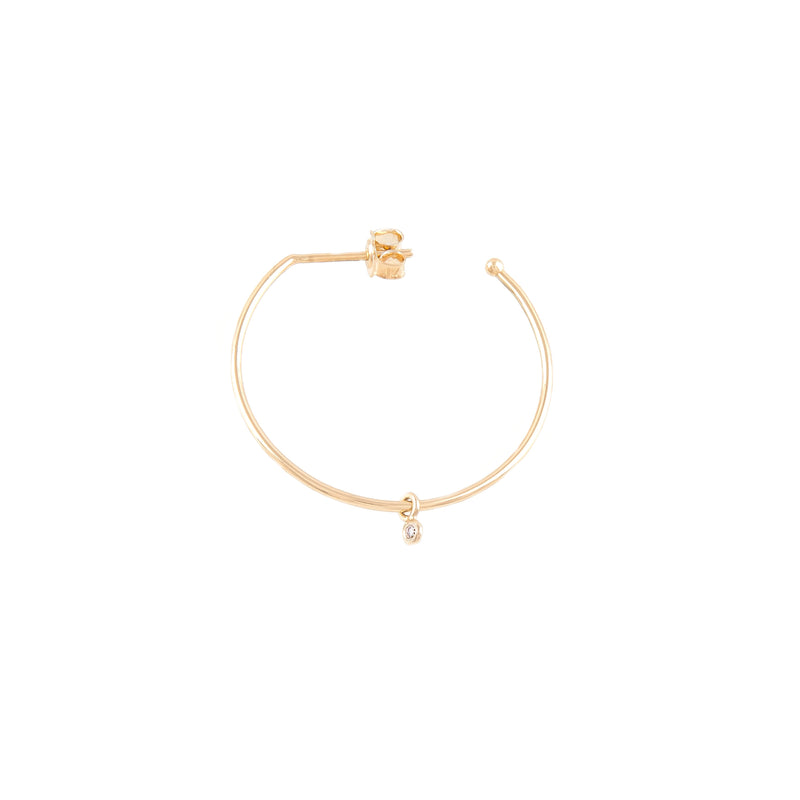 Hoop Earring Midi Single