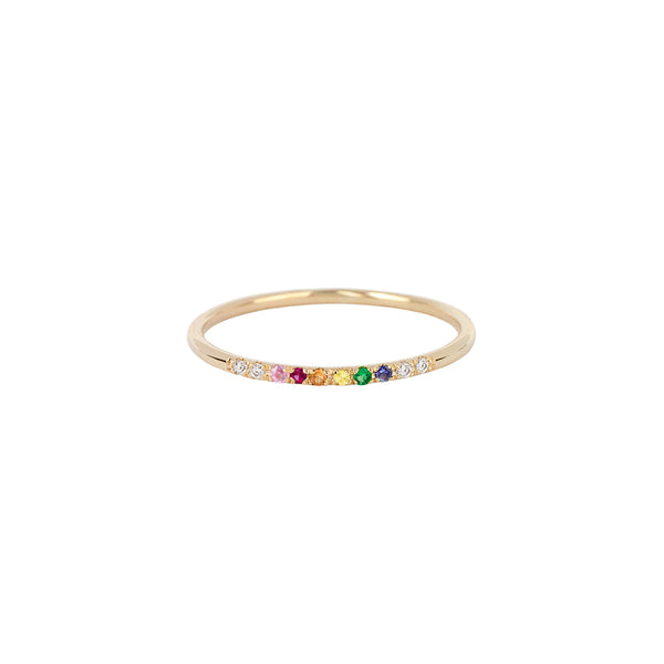 Hemera rainbow ring