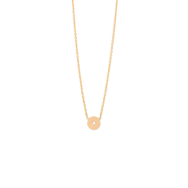 Mikro Disk Necklace