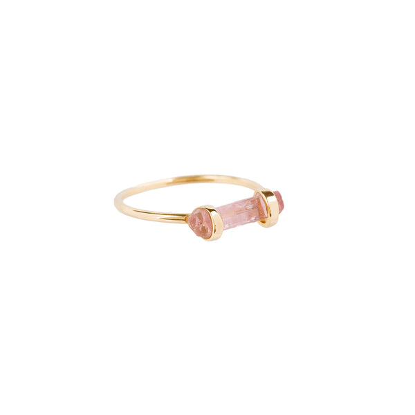 Rainbow Pencil Ring Pink