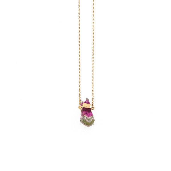 Rainbow Tourmaline (midi) Necklace