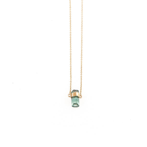 Rainbow Tourmaline (mini) Necklace