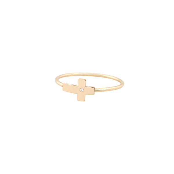 Small Cross Ring