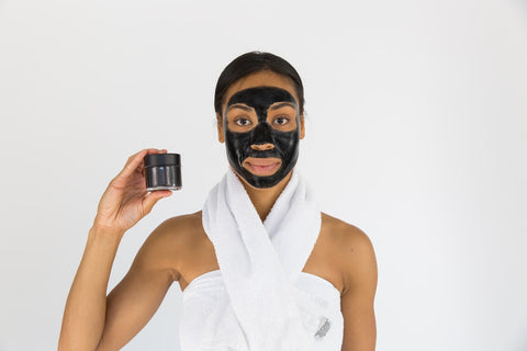 charcoal face mask skincare