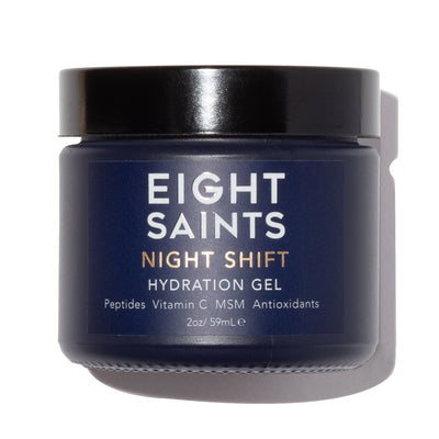 Eight Saints NIGHT SHIFT Hydration Face Gel - the best women's face gel.