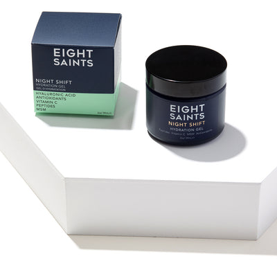 Eight Saints Night Shift Gel Moisturizer For Dry Skin