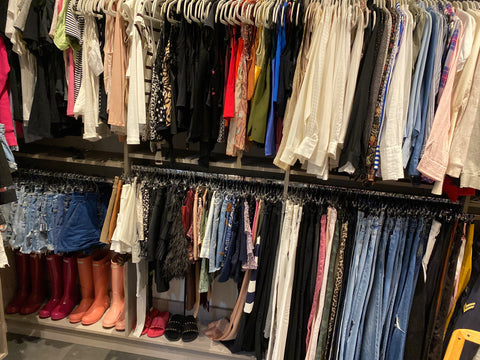 After image of a clean closet