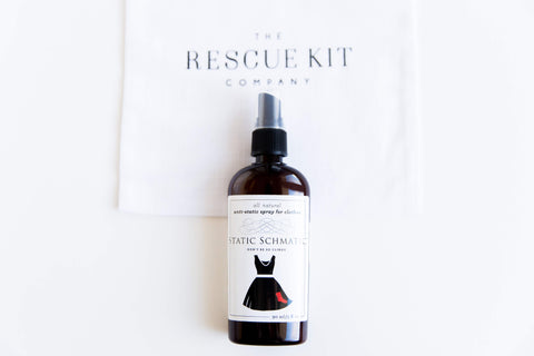 Static Schmatic static removing spray for The Bride Kit by The Rescue Kit Company