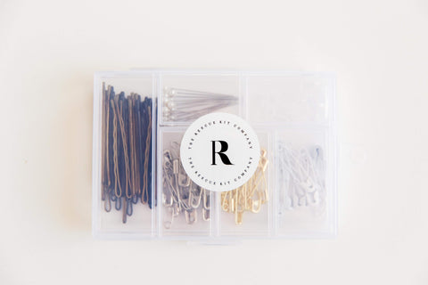 Hair and pin kit included in The Rescue Kit Company's The Bride Kit