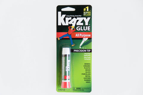 Bonding glue by Krazy Glue included in The Rescue Kit Company's The Bride Kit