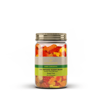 Love Hemp® Sugar-Free CBD Infused Gummy Bears – 5mg Per Bear - The Emporium for CBD Oil