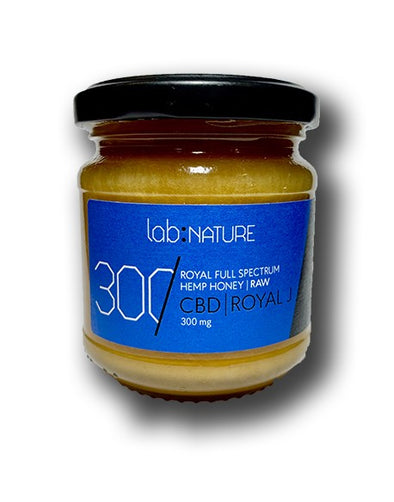 Lab:Nature CBD Honey with Royal Jelly - The Emporium for CBD Oil