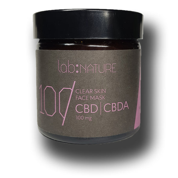Lab:Nature Clear Skin CBD Honey Face Mask  SALE!! - The Emporium for CBD Oil