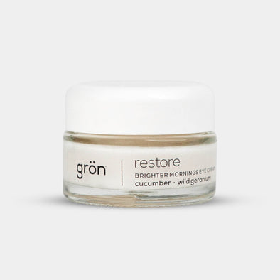 Grön Restore - Brighter Mornings Eye Cream - 75mg  SALE!! - The Emporium for CBD Oil