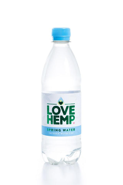 LOVE HEMP CBD WATER - The Emporium for CBD Oil