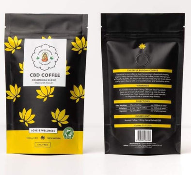 Cheerful Buddha CBD Coffee - The Emporium for CBD Oil