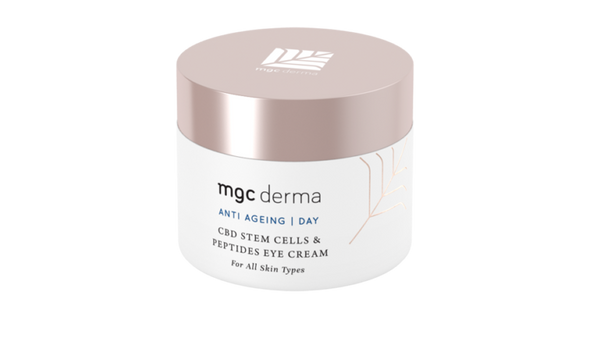 MGC Derma CBD Stem Cells & Peptides Eye Cream  – For All Skin Types | 30% DISCOUNT - The Emporium for CBD Oil