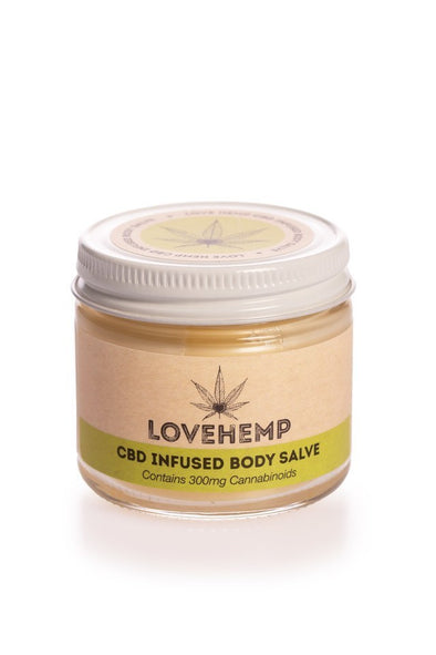 Love Hemp® Body Salve – 50ml – 300mg CBD - The Emporium for CBD Oil