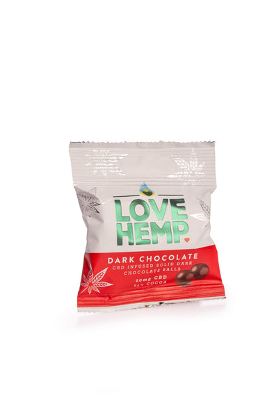 LOVE HEMP CBD CHOCOLATE BITES - 20MG - The Emporium for CBD Oil