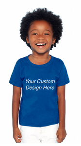 Custom Toddlers and Youth Cotton T-Shirt