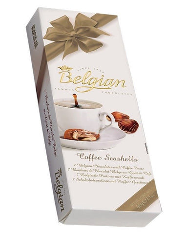 Chocolate Belgian Seashells Coffee Taste 60 gr.