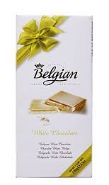 Chocolate Belgian Tableta White 100 gr.