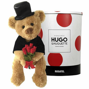 Peluche oso Hugo Con Smoking