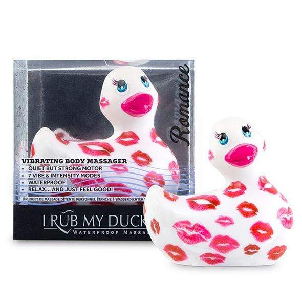 BIG TEAZE TOYS I RUB MY DUCKIE 2.0 | ROMANCE (WHITE & PINK) WISHMEAYE