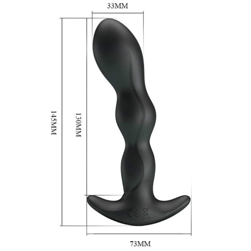 PRETTY BOTTOM PRETTY LOVE ANAL MASSAGER 12 FUNCTIONS VIBRATION WISHMEAYE