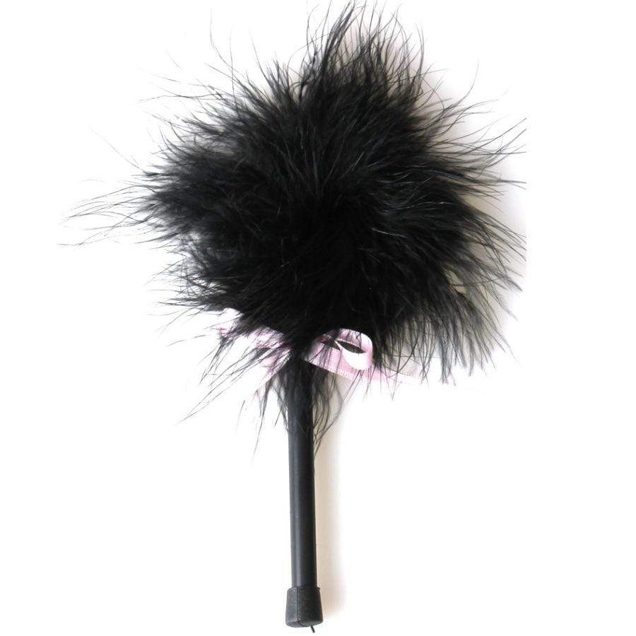 SECRETPLAY SECRETPLAY BLACK MARABOU DUSTER WISHMEAYE