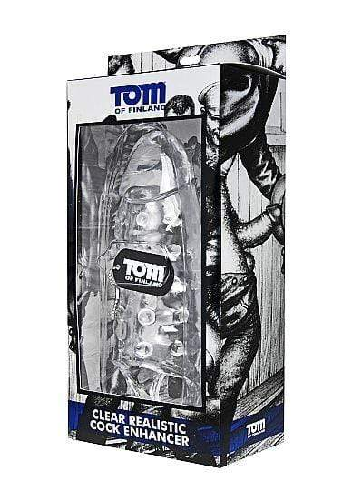 TOM OF FINLAND TOM OF FINLAND CLEAR REALISTIC COCK ENHANCER WISHMEAYE