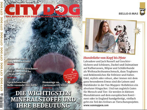 Van Muppen in der City Dog November 2020