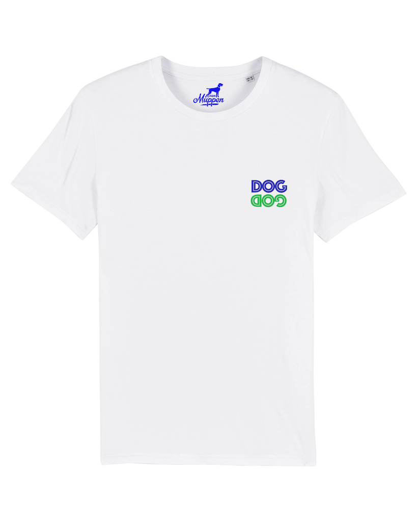 Dog God T-Shirt weiß - Van Muppen