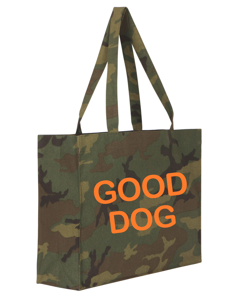 Good Dog Shopper camouflage/orange - Van Muppen