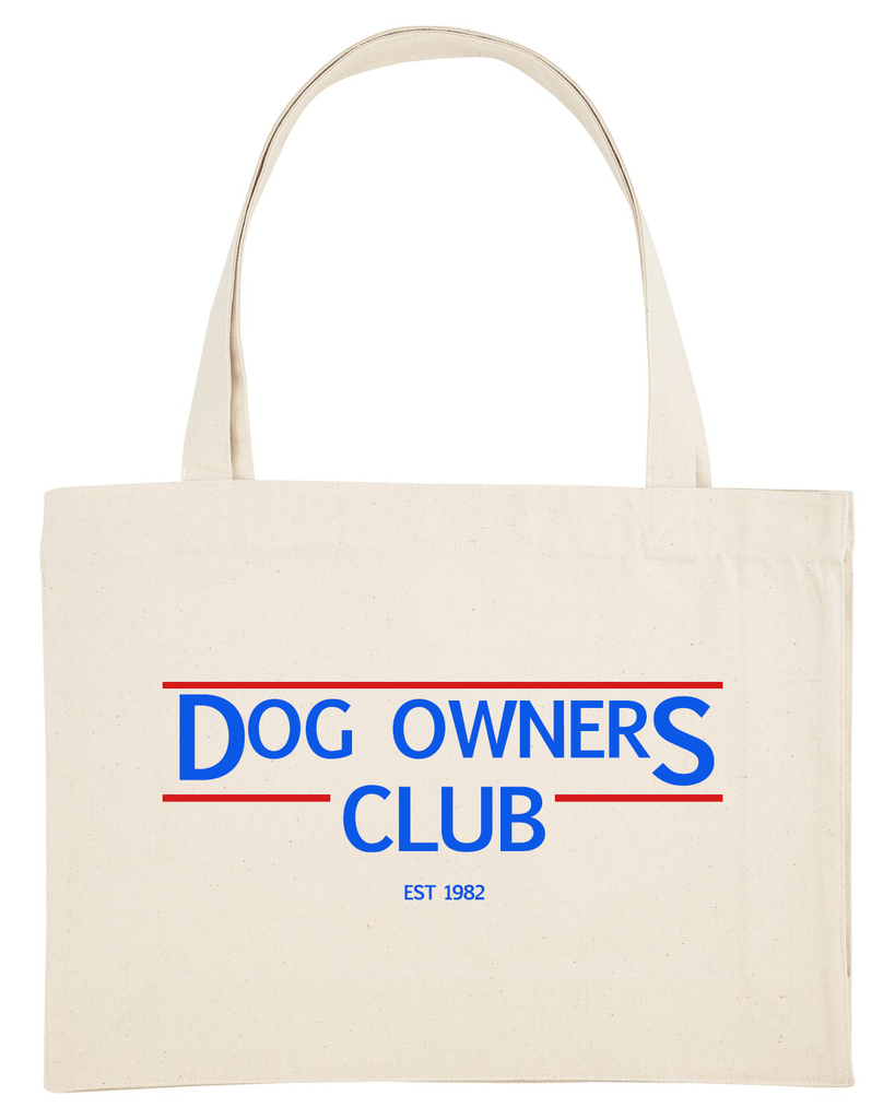 Dog Owners Club Shopper / Beachbag creme - Van Muppen