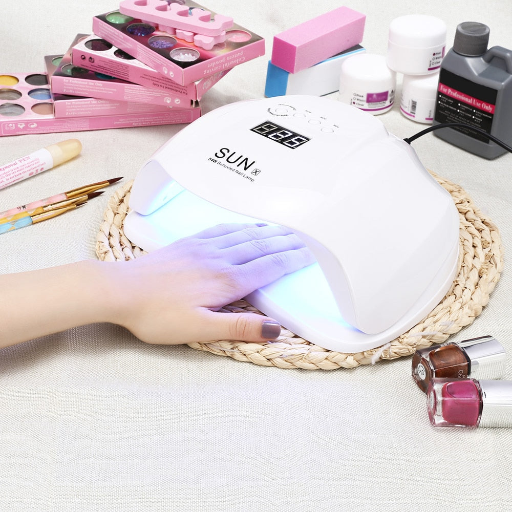 SUN X5 Ultraviolet LEDs Lamp For Gel Polish Nail Care
