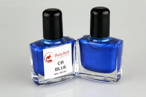 CR Blue Nail Polish