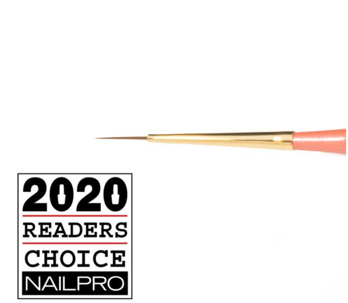 best nail brush for lines