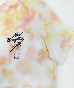 Nail Thoughts Desert Sunset Tie Dye Tee