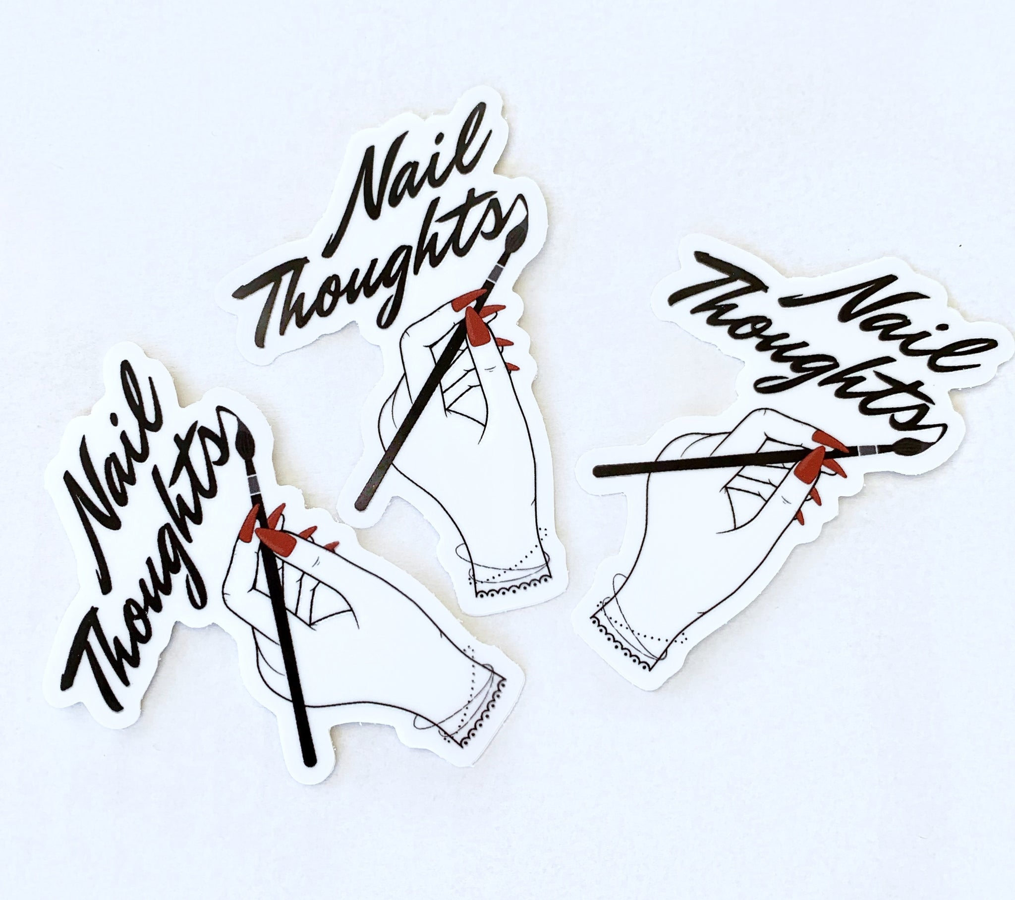 Nail Thoughts Sticker 3 Pack!