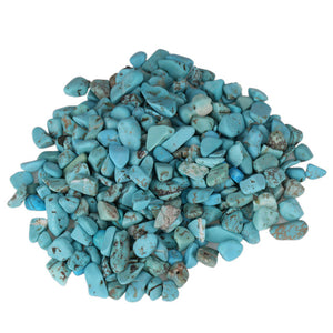 100g Natural Turquoise Stone Fish Tank Aquatic