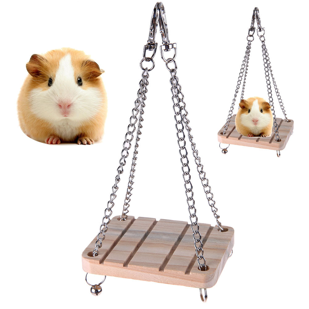 Wooden Swing for Kennel